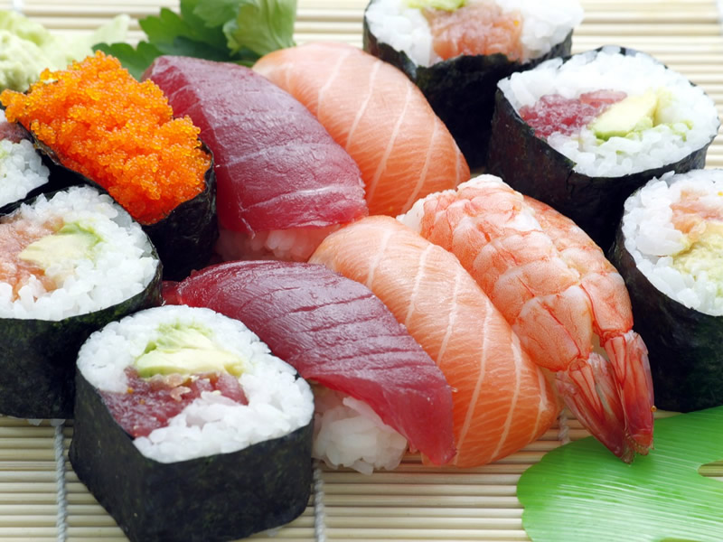 Become a great sushi entertainer